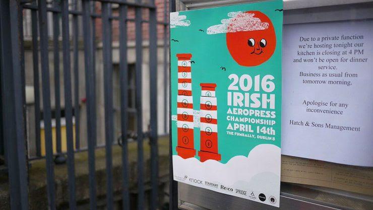 irish aeropress championship 2016 bewley's joe's coffee first draft dublin aerobie sprudge