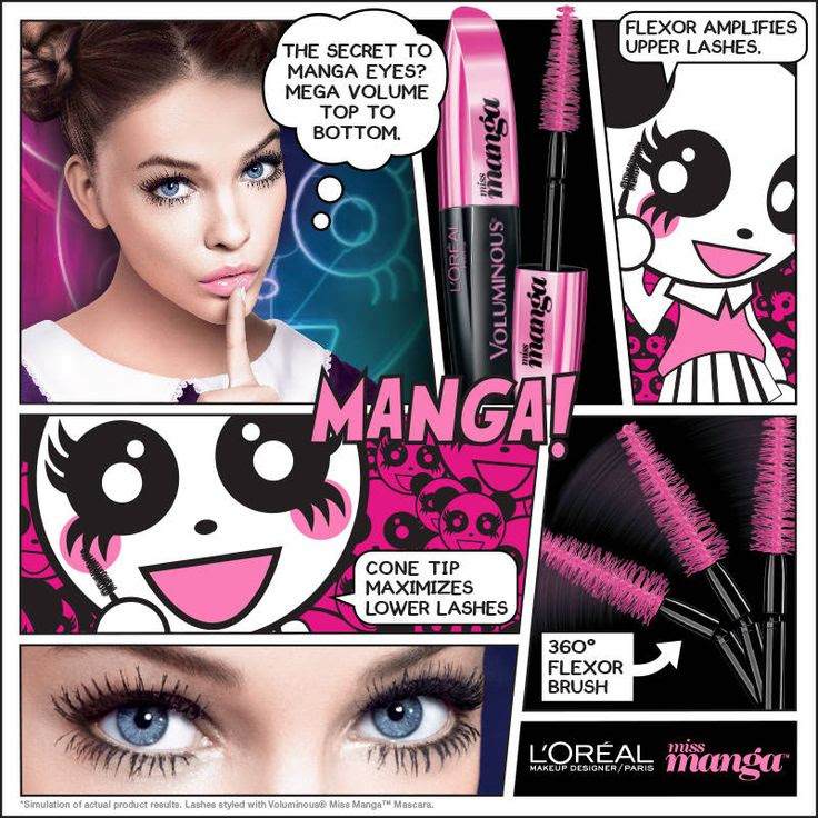 THISWASFOREVER | Fashion and Beauty Blog by Emily Chan – L'OREAL PARIS MISS MANGA BY VOLUMINOUS MASCARA REVIEW