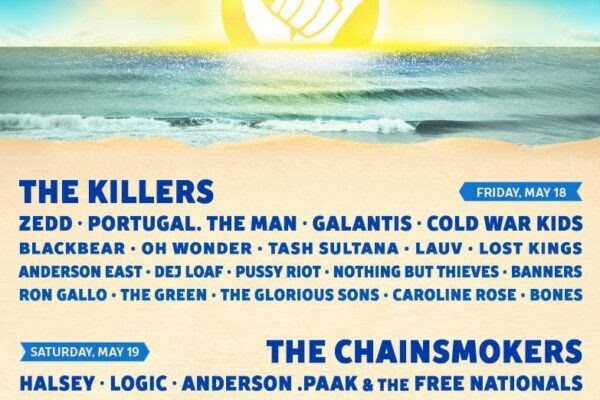 The Killers, Chainsmokers, and Kendrick Lamar To Chill Out at Hangout Fest 2018