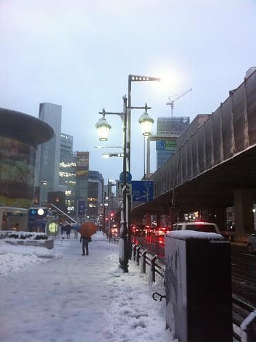 Roppongi in snow 2