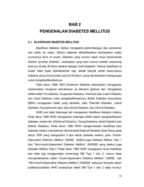 Pharmaceutical Care untuk Penyakit DM
