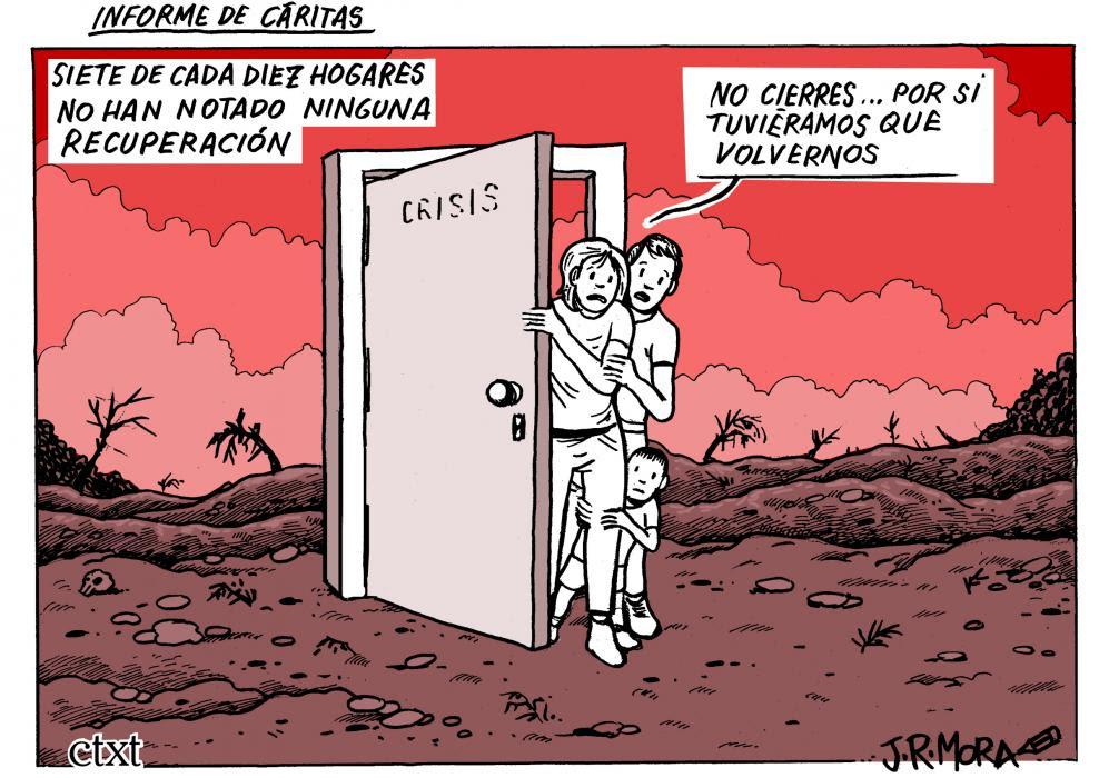 <p>El J.R. Mora de hoy: Informe de Cáritas</p>