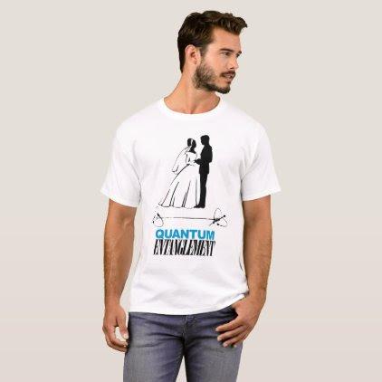 Quantum Entanglement Marriage T-Shirt
