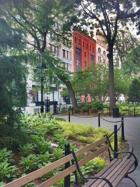 Washington Square Park, eastern section