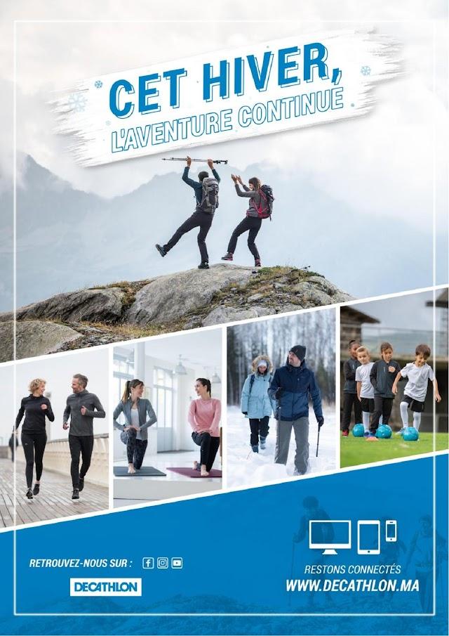 Catalogue Décathlon Maroc Hiver 2019