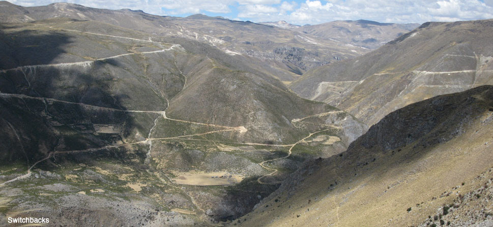 andean mountain road