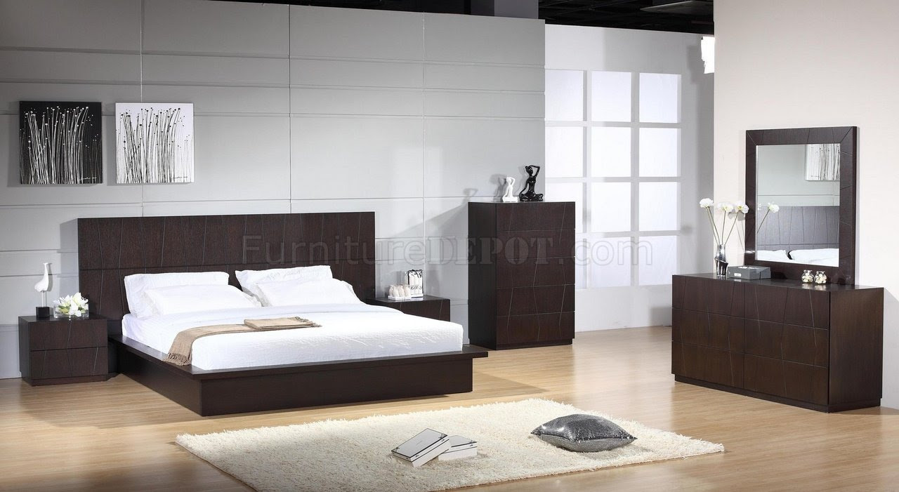 Anchor Bedroom By Beverly Hills In Wenge Woptional Casegoods