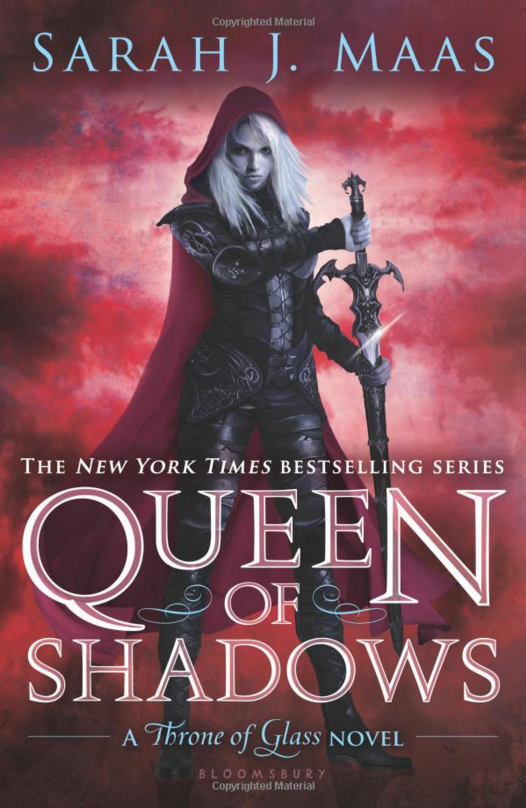 "YA SCI-FI/FANTASY: ""Queen of Shadows (Throne of Glass #4)"" by Sarah J. Maas"