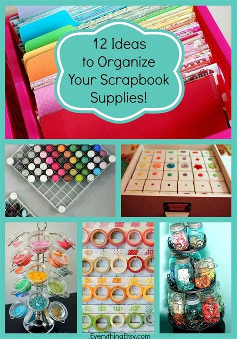 scrapbook suppliesso organized  awesome ideas