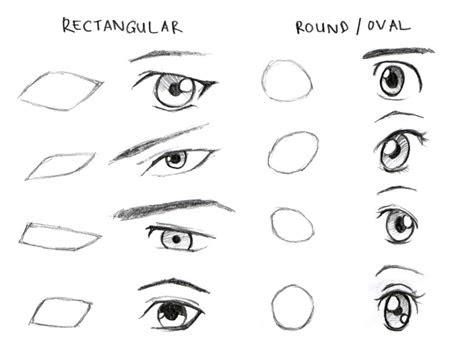 draw male anime eyes step  step  beginners