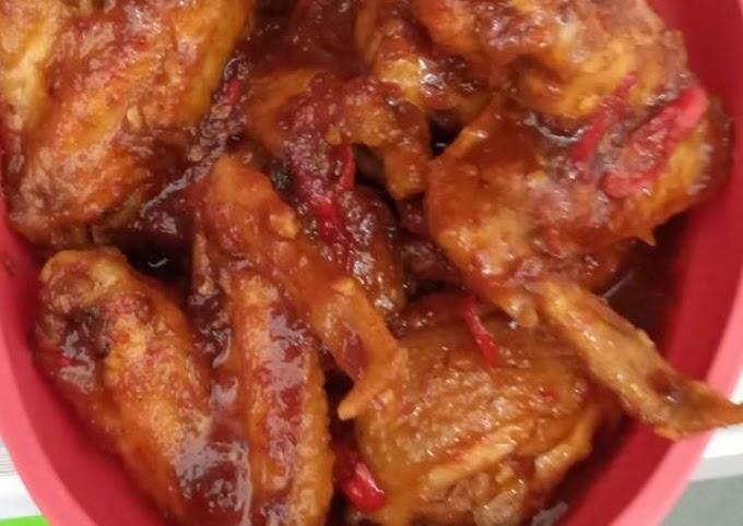 Resep Ayam kecap Anti Gagal