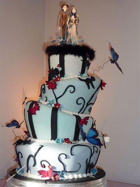 Tim Burton Wedding Cakes Design 5 Wedding Cake   Cake
