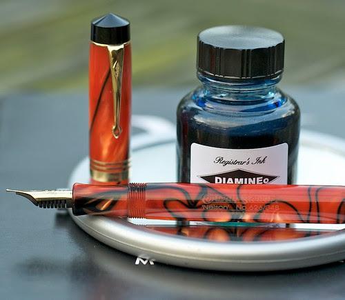 Diamine Registrar's Ink