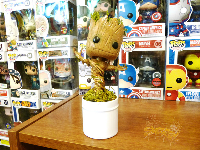 Baby Groot Custom Funko Pop Vinyl + More
