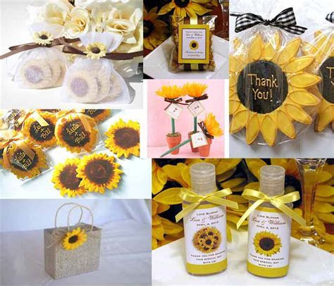rustic wedding party.sunflower wedding decoration Archives