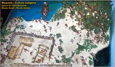 Cultura indígena por volta da época do descobrimento do Brasil