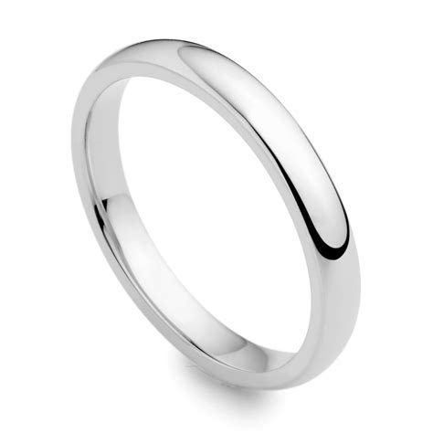Ladies' Plain Wedding Ring IDC185