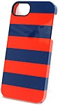 Griffin Cabana iPhone Case - iPhone - Blue/Red Stripes - Plastic, Polycarbonate, Leather GB36380