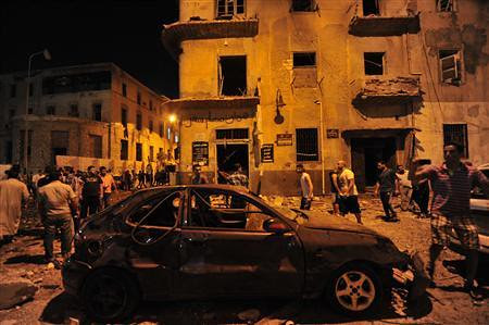 Aftermath of an explosion in Benghazi, Libya the birthplace of the counter-revolution against the Jamahiriya in 2011. The country has been plunged into chaos by imperialism. by Pan-African News Wire File Photos
