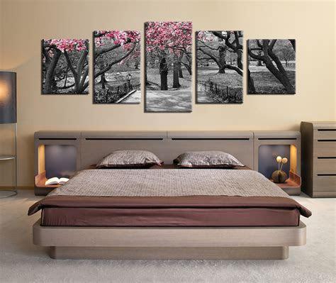 piece multi panel canvas grey huge pictures autumn
