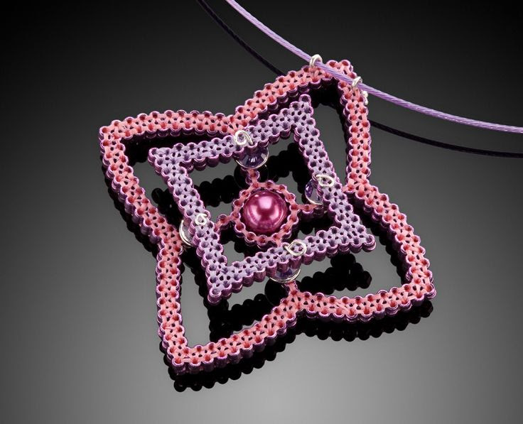 Quilled Necklace by Kathy King  www.ArtsBusinessInstitute.org
