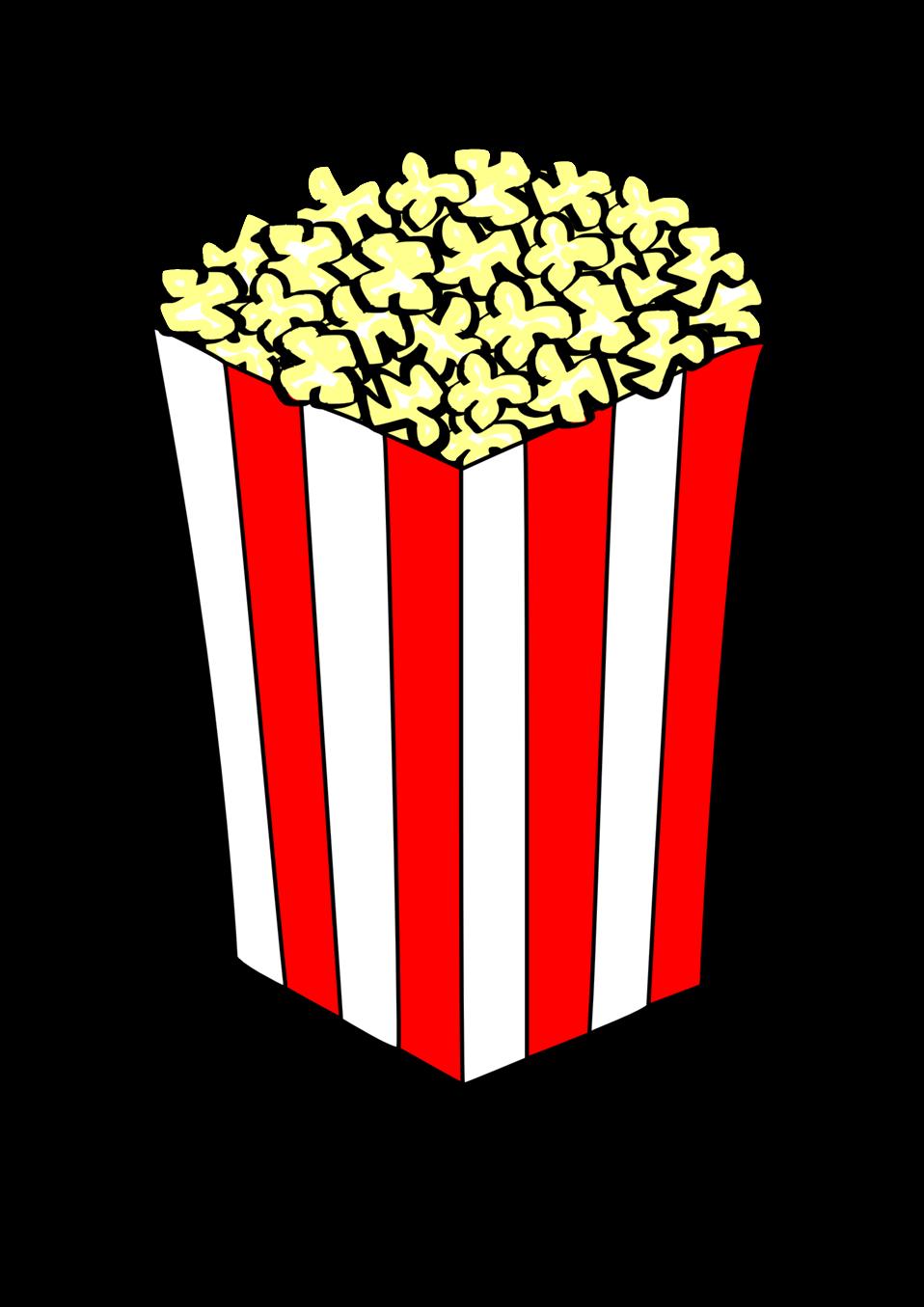 Public Domain Clip Art Image   Popcorn   ID: 13937334013841   PublicDomainFiles.com