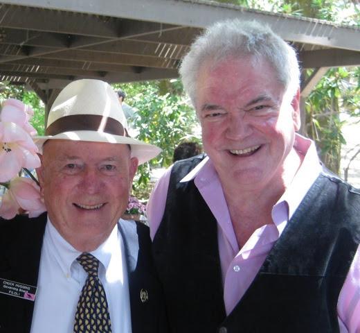 Chuck Huggins and Bud Spangler