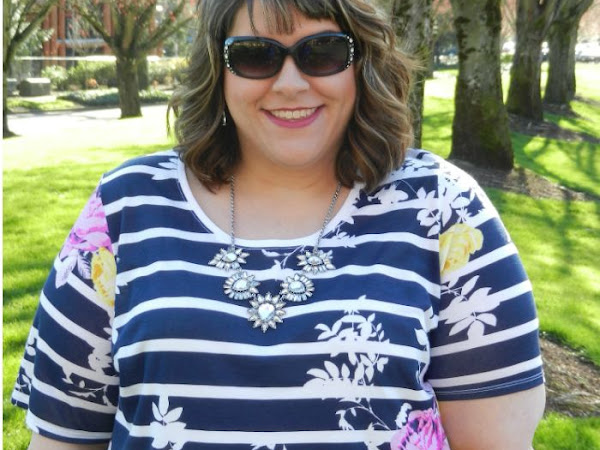 What I Wore: Spring Stripes and Jewels + Rocksbox Review