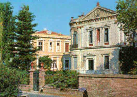 Αρχοντικά σπίτια της Μυτιλήνης.