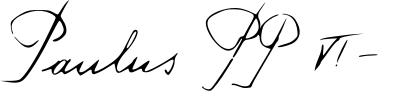 File:Signature paolo vi editada.png