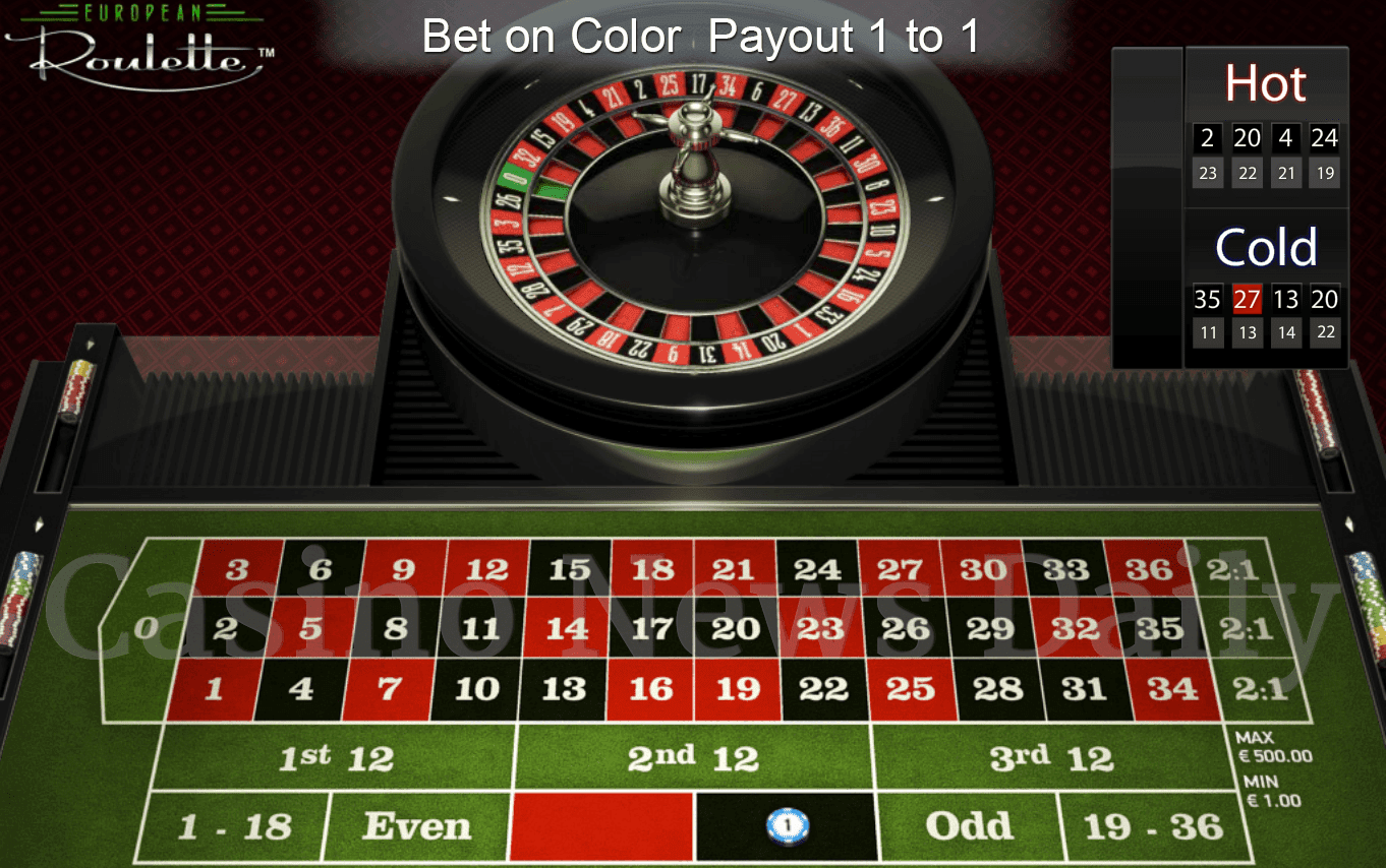 Roulette Colors And Numbers | SSB Shop