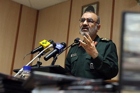 The Deputy Commander of the Iranian Revolutionary Guards Corps, Brigadier General Hossein Salami, says that the country is not seriously phased by the stepped-up Pentagn threats to the Islamic state. Iran has been subjected to additional sanctions. by Pan-African News Wire File Photos