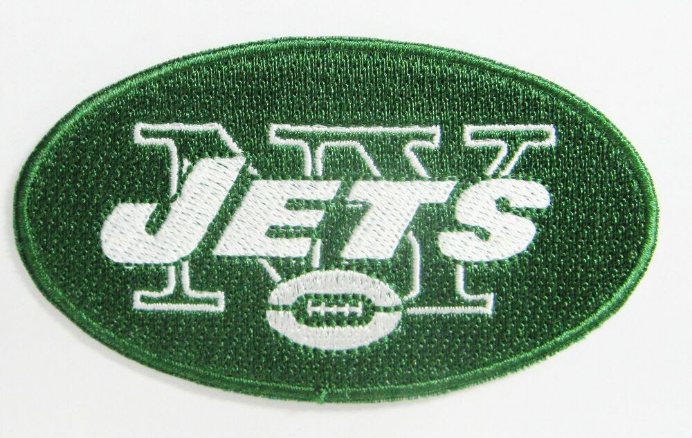LOT OF 1 NFL NEW YORK JETS EMBROIDERED PATCH PATCHES IRONON ITEM  27  eBay