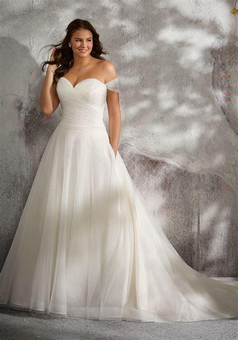 Lyla Plus Size Wedding Dress   Style 3245   Morilee