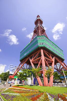 札幌テレビ塔の写真イラスト素材 写真素材ストックフォトの定額制