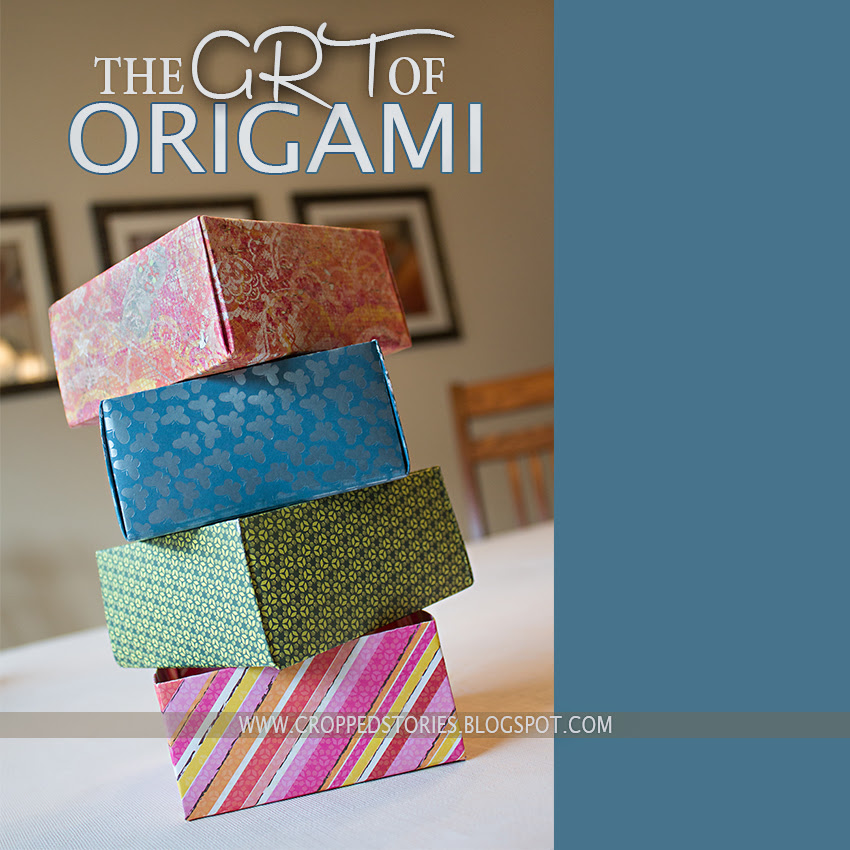 THE ART OF ORIGAMI VIA CROPPED STORIES