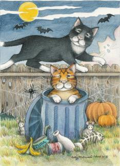 Alley Cats Halloween (Bud & Tony)