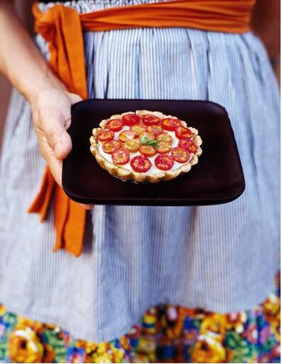 Cherry Tomatoe Pie by Miha Matei Photography