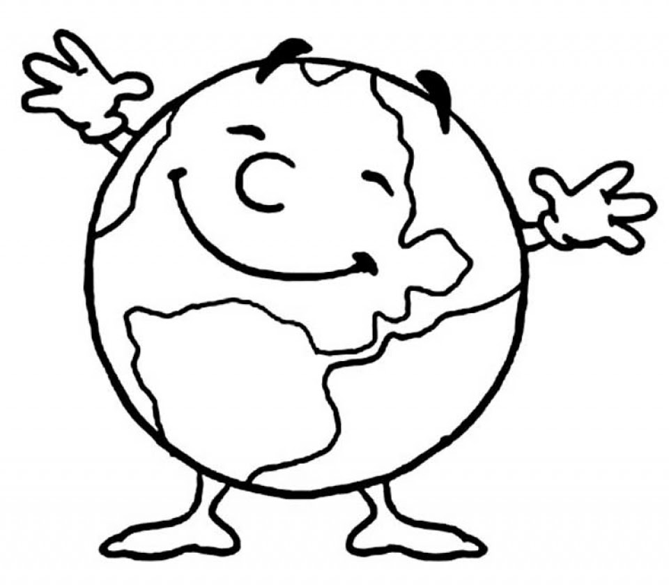 Get This Online Earth Coloring Pages f8shy