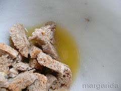 Pan remojazo en zumo de naranja