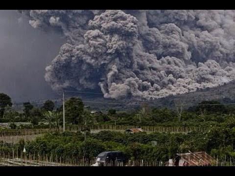 Beginilah Kondisi Desa Gamber Setelah Diamuk Awan Panas Gunung Sinabung