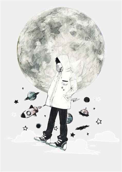 sad boy aesthetic drawings wallpaper