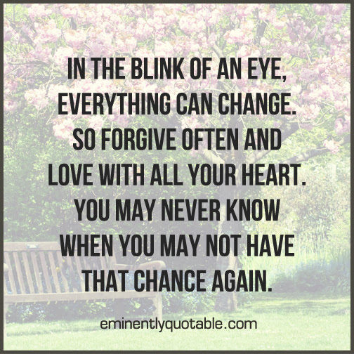 In The Blink Of An Eye ø Eminently Quotable Quotes Funny