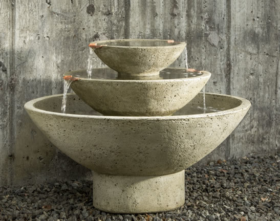 Carrera Outdoor Water Fountain - outdoor fountains - portland - by ...