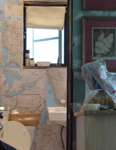 map bathroom
