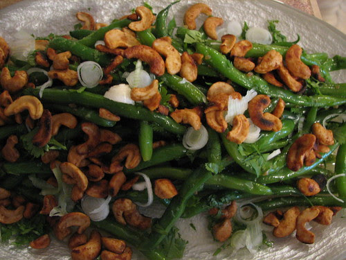 Fresh Green Bean Salad w/Asian Dressing