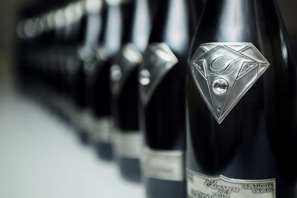 World's most expensive champagne worth $1.8 million ships in a diamond themed bottle