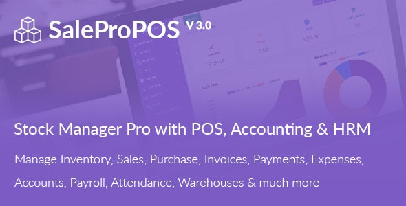 SalePro v3.0 - Inventory Management System with POS, HRM, Accounting