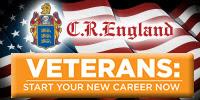 C R England seeking Class A CDL Drivers Ex Military Jobs
