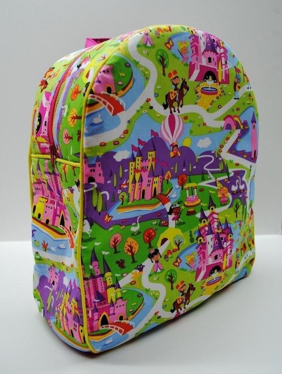 Toddler backpack Michael Miller Lil Kingdom